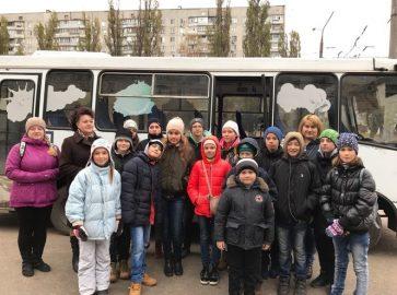 До нас завітали дітлахи зі Змїївської середньої школи №2