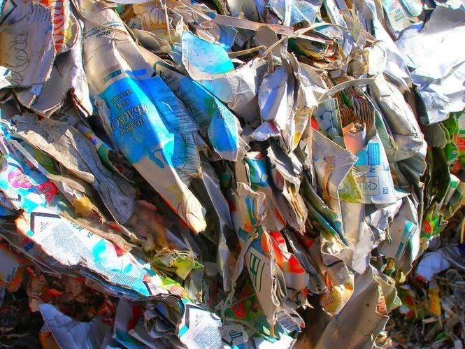 Вторинна переробка тонни паперу
